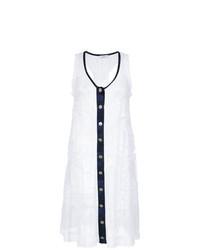 Белое кружевное пляжное платье от Amir Slama