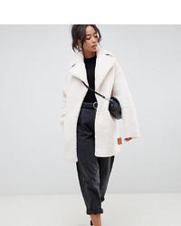 13a1a40d0fd Купить женское белое пальто в интернет-магазине Asos - модные модели ...