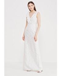 Белое платье-макси от LOST INK