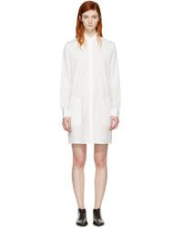 Белое платье-рубашка от Acne Studios