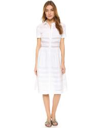 Белое платье-рубашка от Chinti and Parker