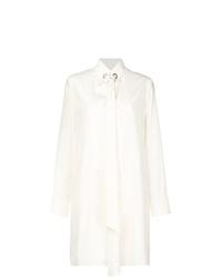 Белое платье-рубашка от Chloé