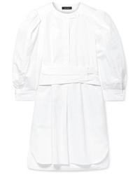 Белое платье-рубашка от Isabel Marant