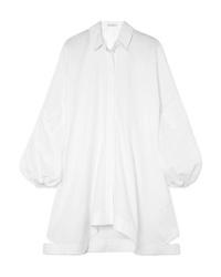 Белое платье-рубашка от JW Anderson
