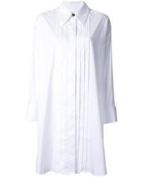 Белое платье-рубашка от MM6 MAISON MARGIELA