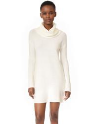 Женское белое платье-свитер от BB Dakota