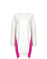 Белое платье-свитер от MM6 MAISON MARGIELA