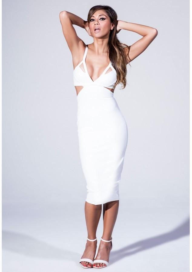 Купить белые платья футляр