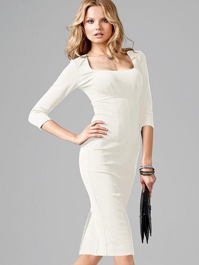 Платья футляр белое купить