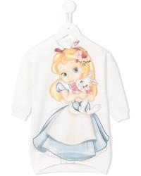 Детское белое платье для девочек от MonnaLisa