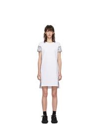 Белое повседневное платье от Kenzo