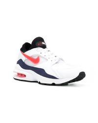 Бело-красно-синие кроссовки