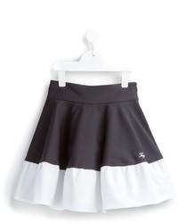 Бело-черная юбка