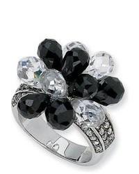 Бело-черное кольцо