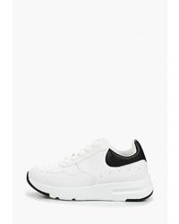 Женские бело-черные кроссовки от Damerose