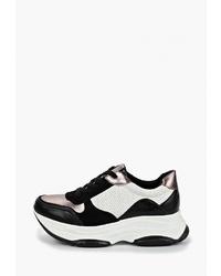 Женские бело-черные кроссовки от Vivian Royal
