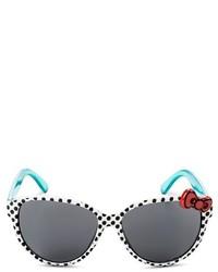 Бело-черные солнцезащитные очки