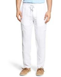 Белые брюки карго