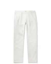 Белые брюки чинос от Alex Mill