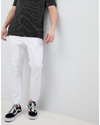 Белые брюки чинос от ASOS DESIGN