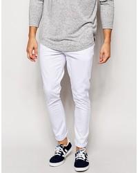 Белые брюки чинос от Asos
