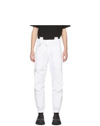 Белые брюки чинос от Boramy Viguier