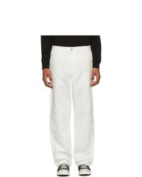 Белые брюки чинос от CARHARTT WORK IN PROGRESS