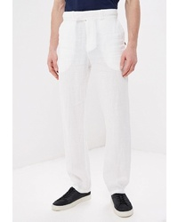 Белые брюки чинос от Elijah & Sims