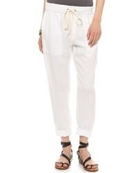 Женские белые брюки чинос от Enza Costa