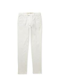 Белые брюки чинос от Loro Piana