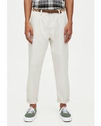 Белые брюки чинос от Pull&Bear