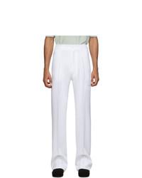 Белые брюки чинос от Random Identities