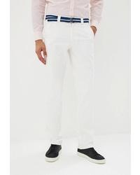 Белые брюки чинос от Stayer