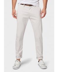Белые брюки чинос от Tom Tailor