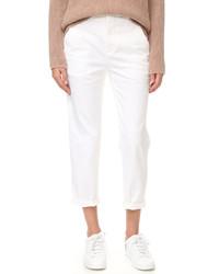 Женские белые брюки чинос от Vince