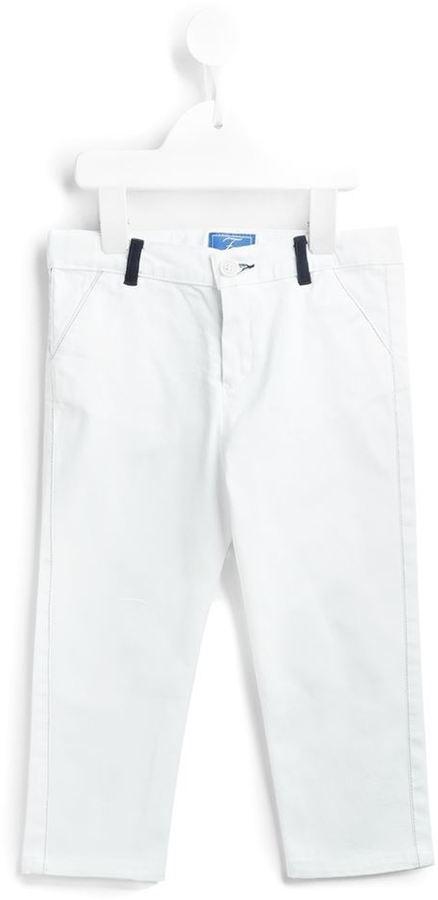 Детские белые брюки для мальчику