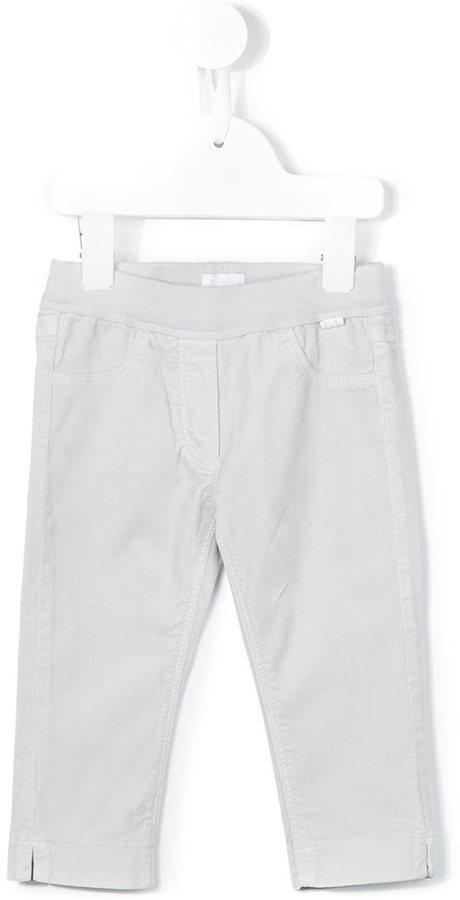 Детские белые брюки для мальчиков от Il Gufo