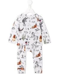 Детские белые брюки для мальчику от Stella McCartney
