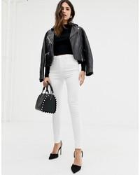Белые джинсы скинни от ASOS DESIGN