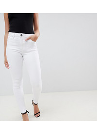 Белые джинсы скинни от Asos Petite