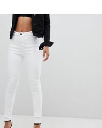 Белые джинсы скинни от Asos Tall
