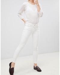 Белые джинсы скинни от Blend She