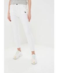 Белые джинсы скинни от Marissimo