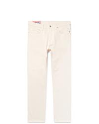 Мужские белые джинсы от Acne Studios