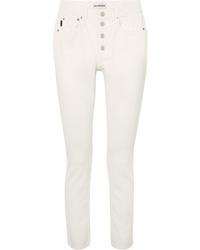 Женские белые джинсы от Balenciaga