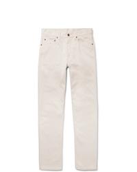 Мужские белые джинсы от Beams Plus
