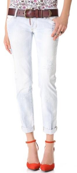 белые джинсы с доставкой
