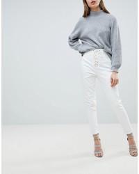 Женские белые джинсы от Ivyrevel