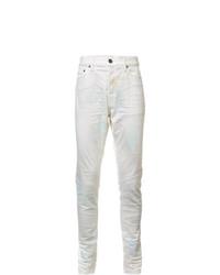 Мужские белые джинсы от John Elliott