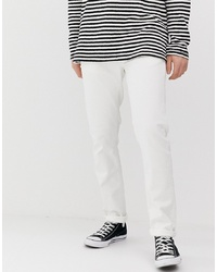 Мужские белые джинсы от Nudie Jeans